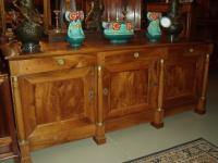 Empire Period Walnut Sideboard