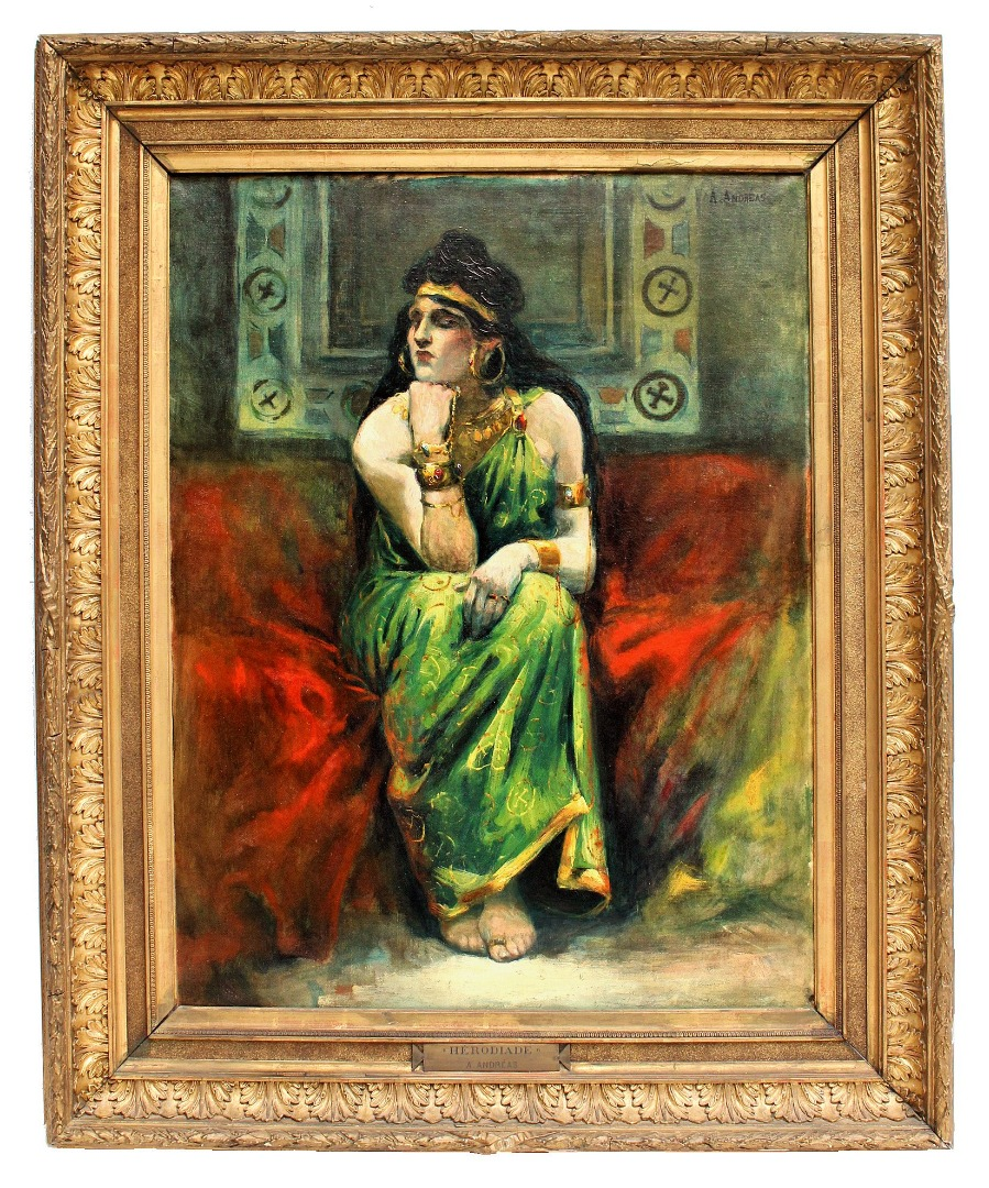 ORIENTALIST OIL ON CANVAS