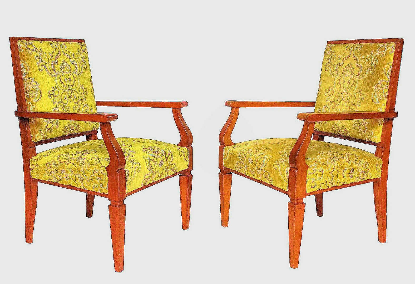 PAIR OF ARMCHAIRS BY Maurice Pré (1907-1988)