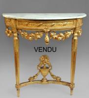 Consoles Louis XVI | Antiques in France