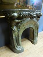 ART NOUVEAU PERIOD FIREPLACE