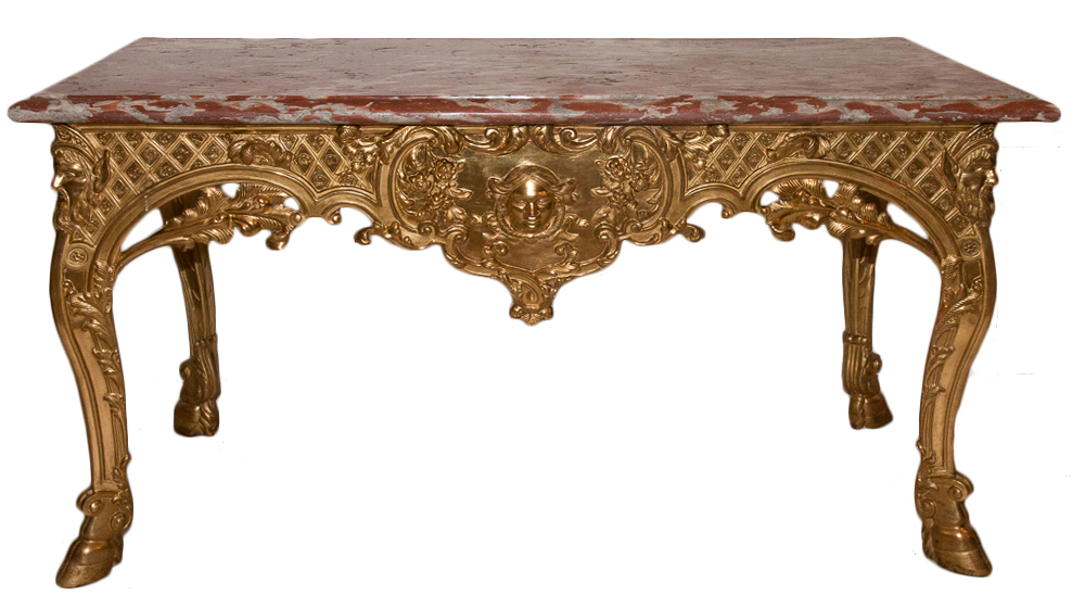 FRENCH REGENCY PERIOD CONSOLE TABLE
