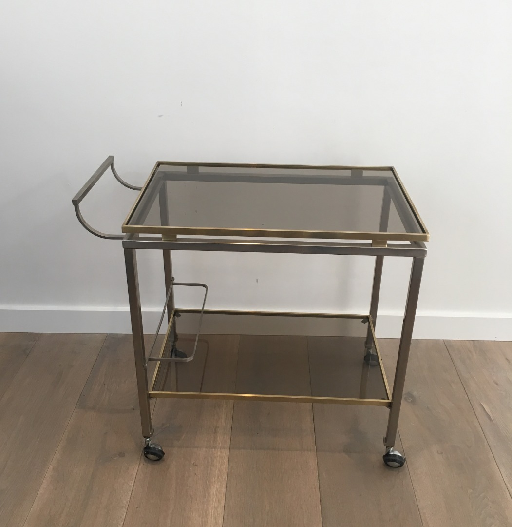 TROLLEY TABLE BY GUY LEFEVRE