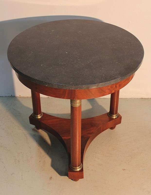 FRENCH EMPIRE STYLE TABLE