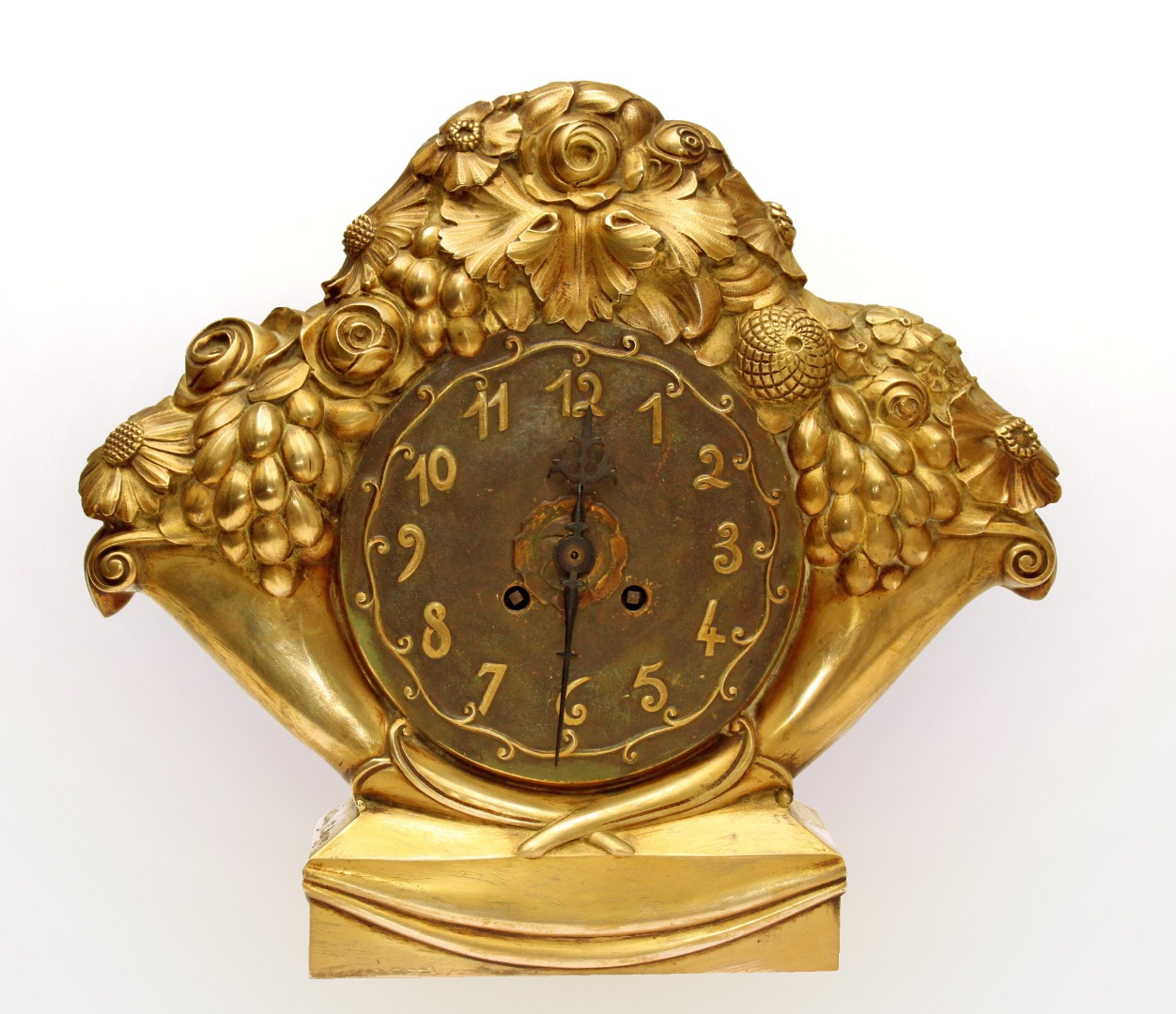 ART DECO PERIOD CLOCK by Eric Bagge (1890-1978)