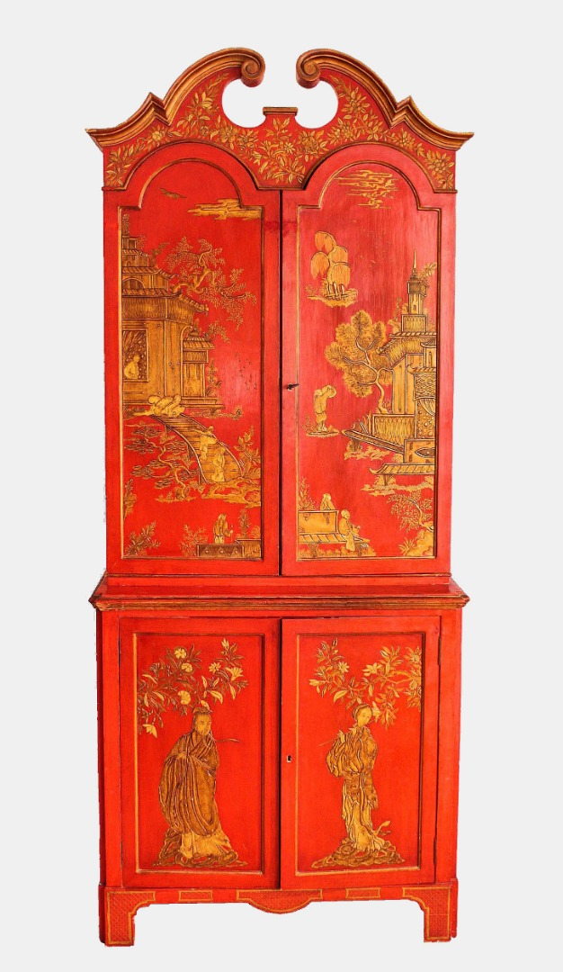 CUPBOARD  IN  CHINESE LACQUER