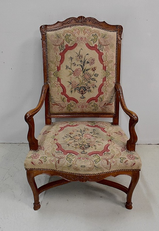 FRENCH REGENCY PERIOD ARMCHAIR