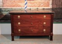 DIRECTOIRE STYLE CHEST OF DRAWERS
