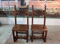 PAIR OF CHAIRS FROM LORRAINE