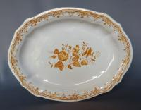 18th C DISH IN TOULOUSE FAIENCE