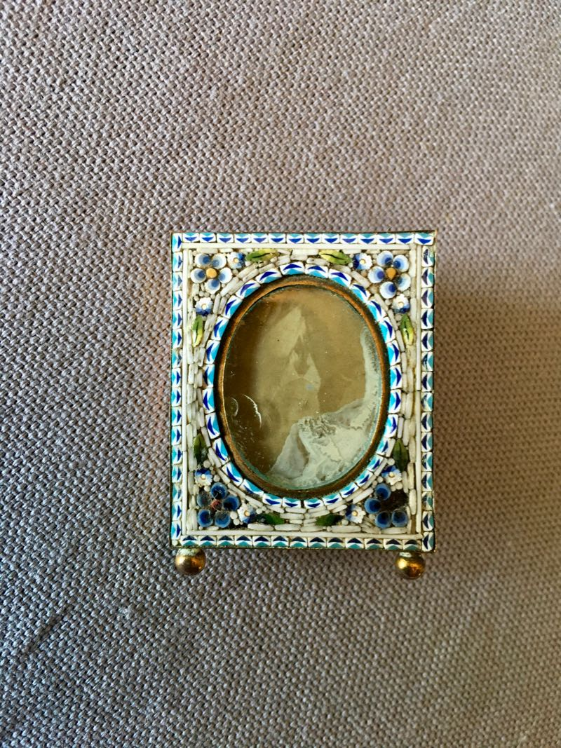 VERY SMALL MICRO MOSAIC FRAME