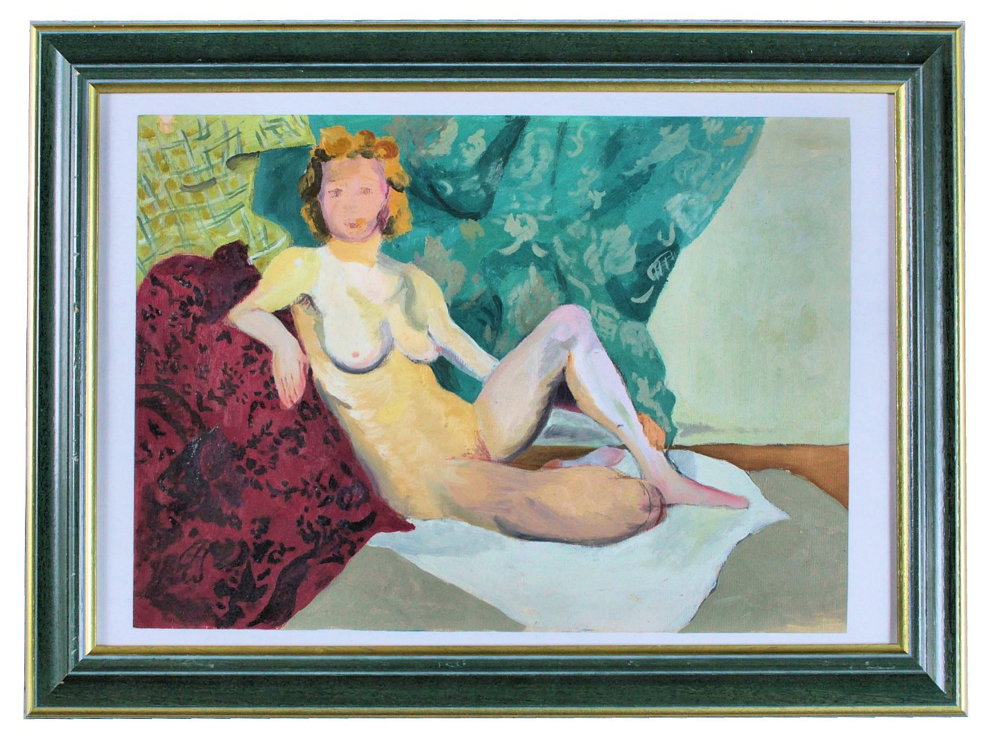 ART DECO PERIOD GOUACHE attributed to Jean Puy
