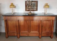 FRENCH EMPIRE PERIOD SIDEBOARD IN CHERRYWOOD