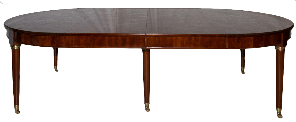 FRENCH DIRECTOIRE PERIOD TABLE