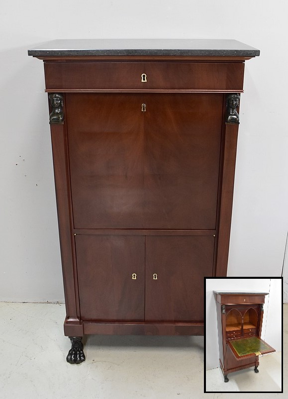 FRENCH EMPIRE STYLE SECRETAIRE