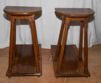 PAIR OF RENAISSANCE STYLE STOOLS