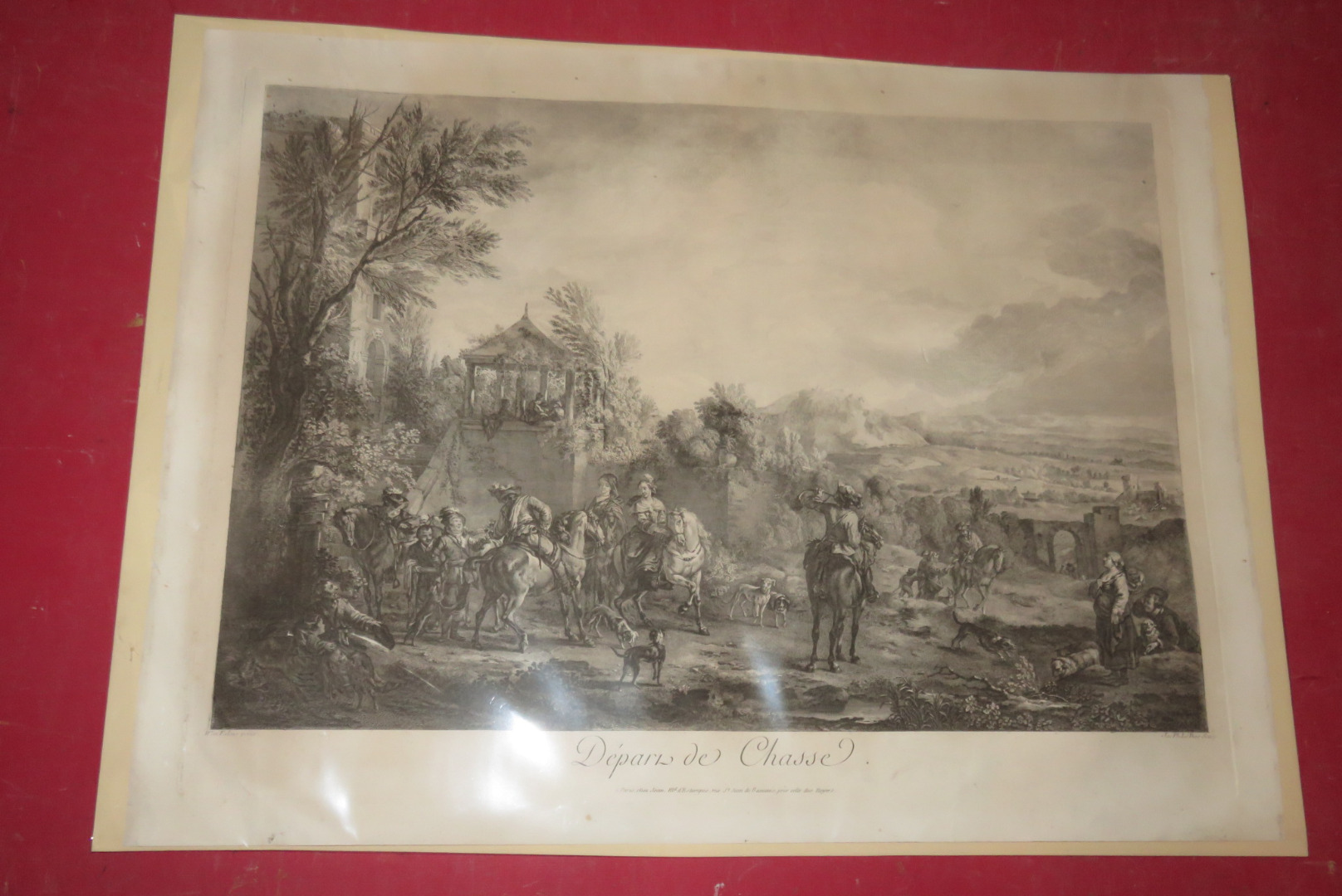 EARLY 19th CENTURY PRINT
