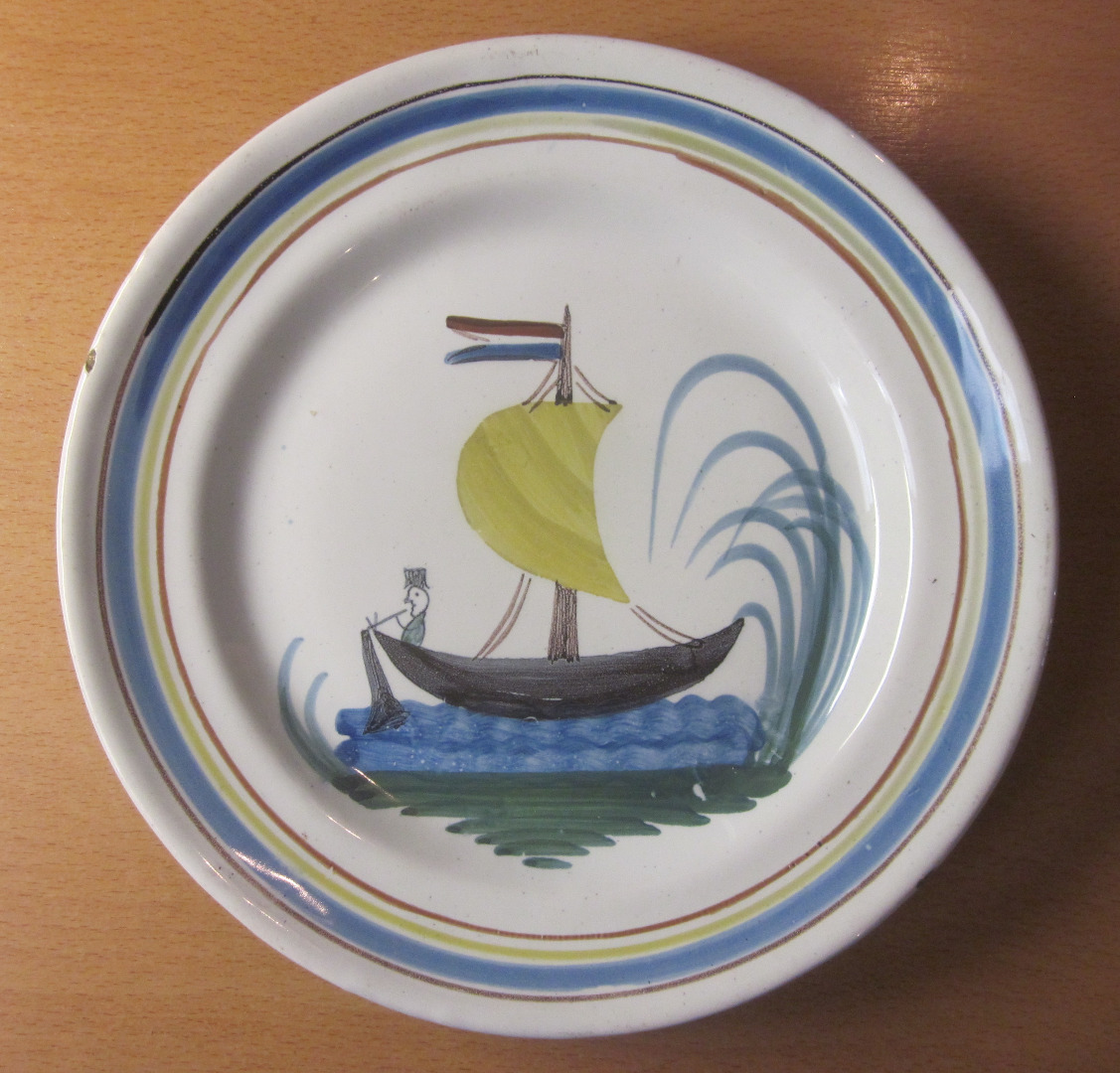 NEVERS FAIENCE PLATE