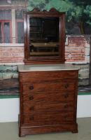 19th C DRESSING TABLE