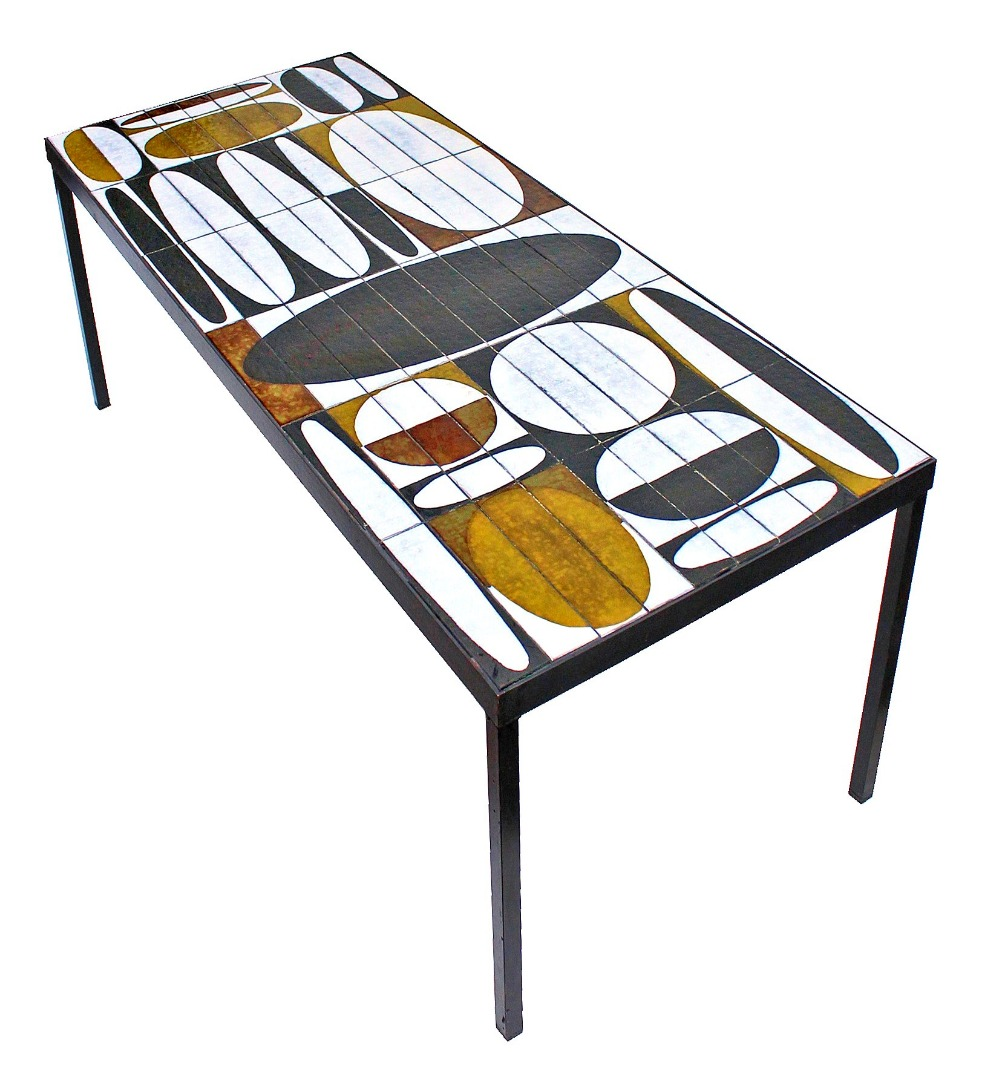 COFFEE TABLE by Roger Capron (1922-2006)