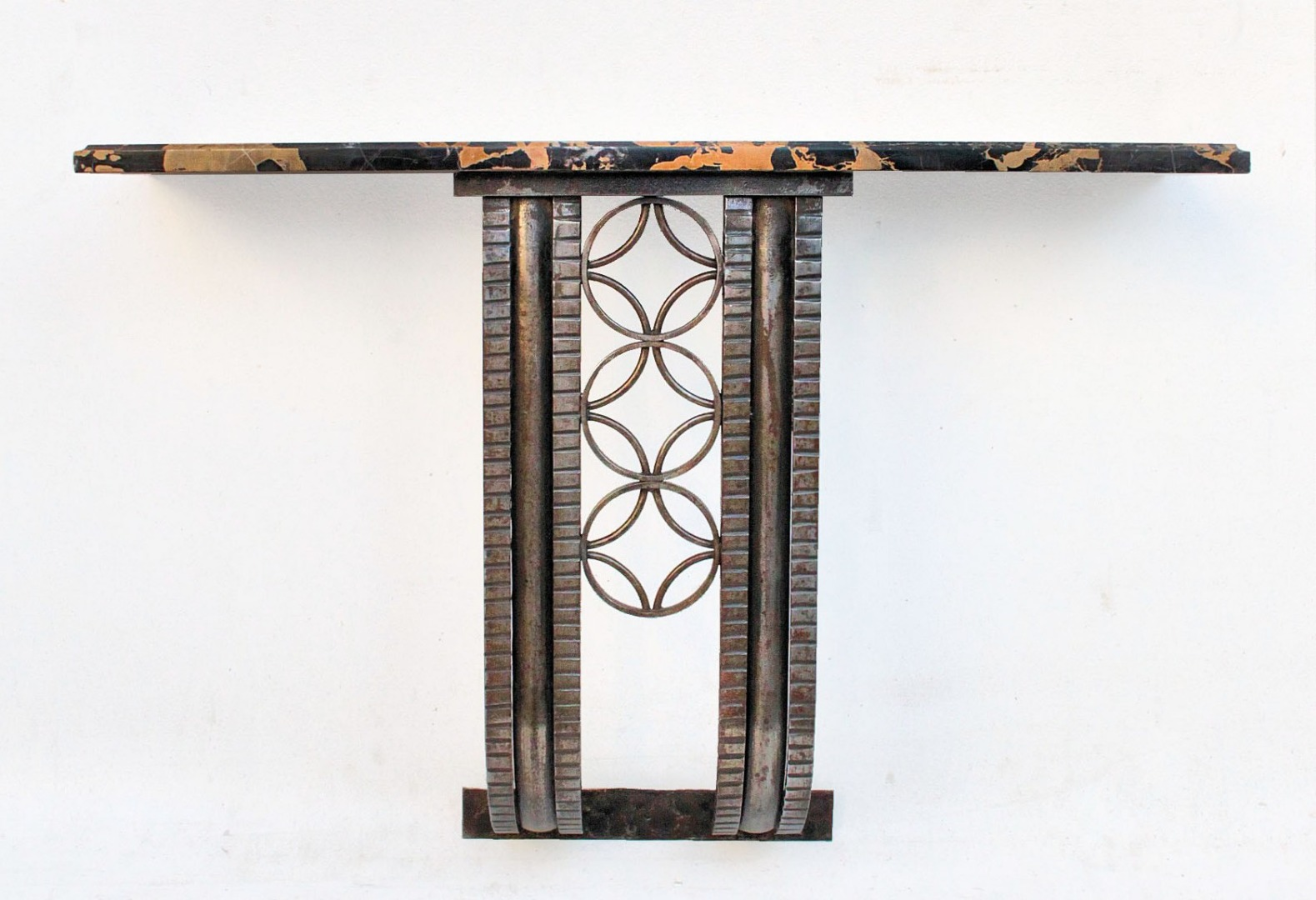 ART DECO PERIOD WALL SHELF BY Michel Zadounaisky  (1903-1983)