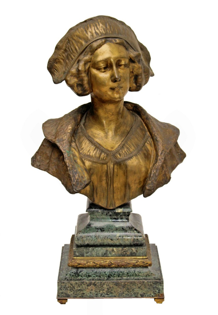 BRONZE BUST by GORY (1895-1925)