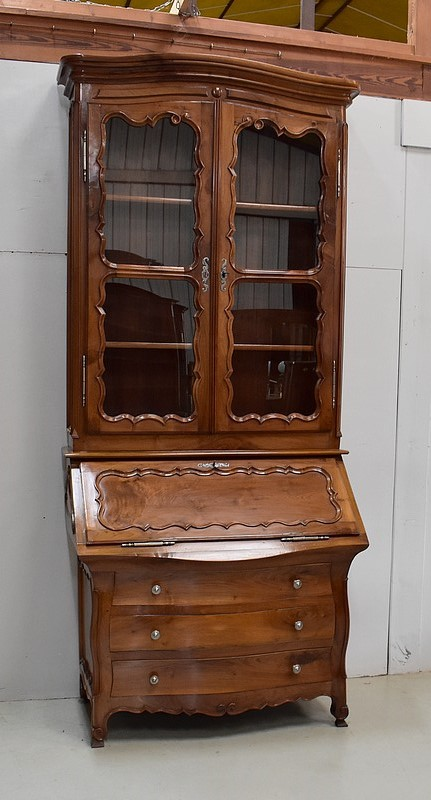 FRENCH BUREAU BOOKCASE