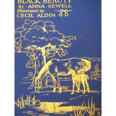 Horse riding Cecil Aldin Book Black Beauty Chasse A Cour Anglais