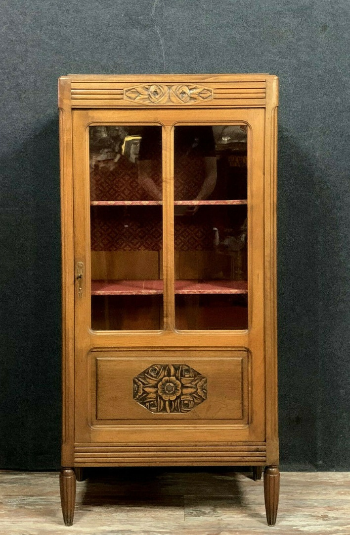 ART DECO PERIOD BOOKCASE