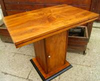 antique yacht Table walnut Circa 1950