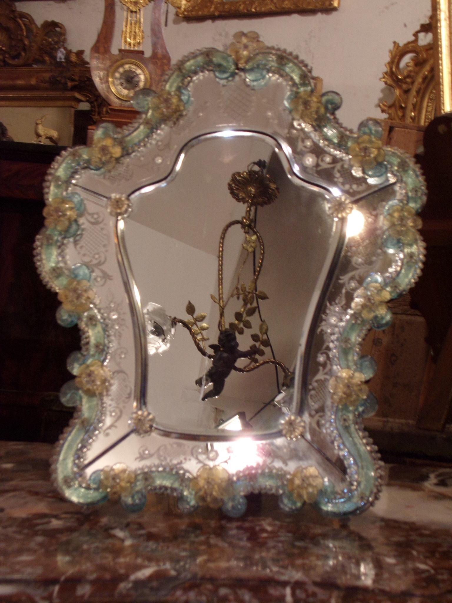 Eglomise Mirror L Atelier De La Dorure