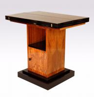 ART DECO PERIOD  CARD TABLE