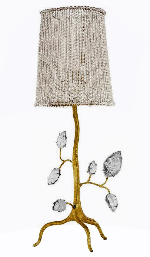LAMP BY GAROUSTE AND BONETTI for BAGUES
