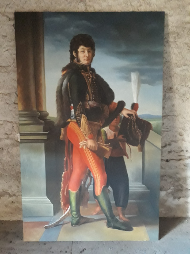 COPY OF THE PAINTING OF JOACHIM MURAT