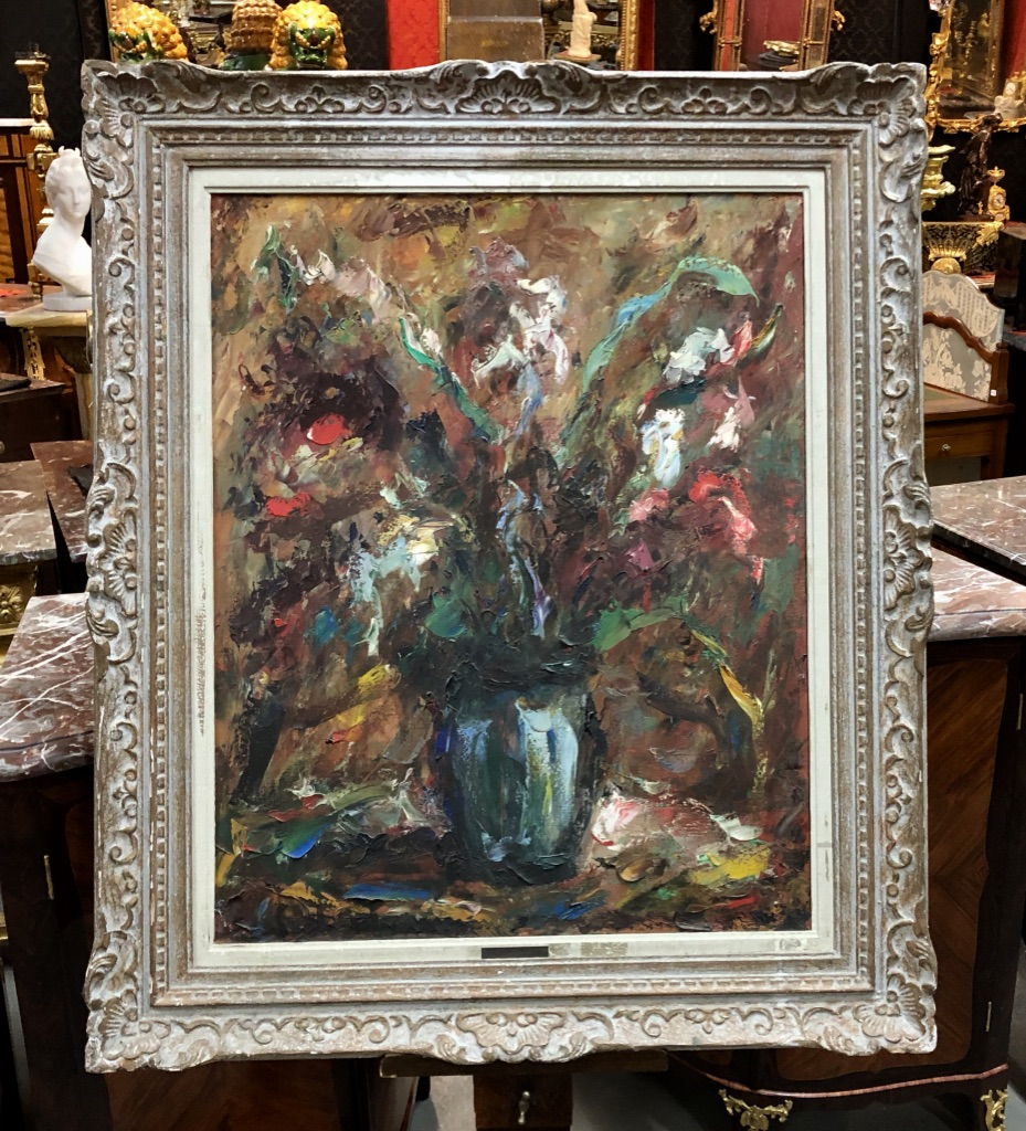 OIL ON CANVAS SIGNED BY ELEMER VACH WEINMANN