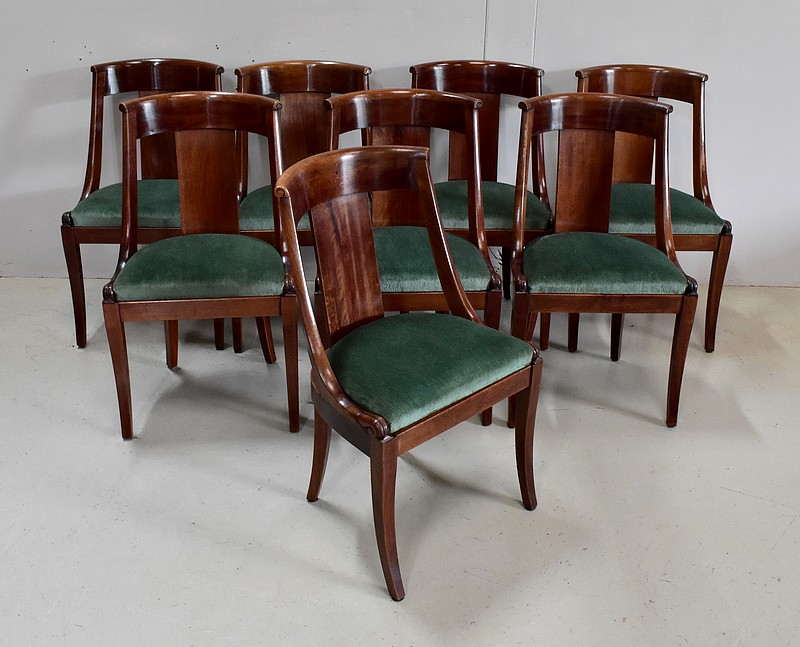 FRENCH EMPIRE STYLE  CHAIRS