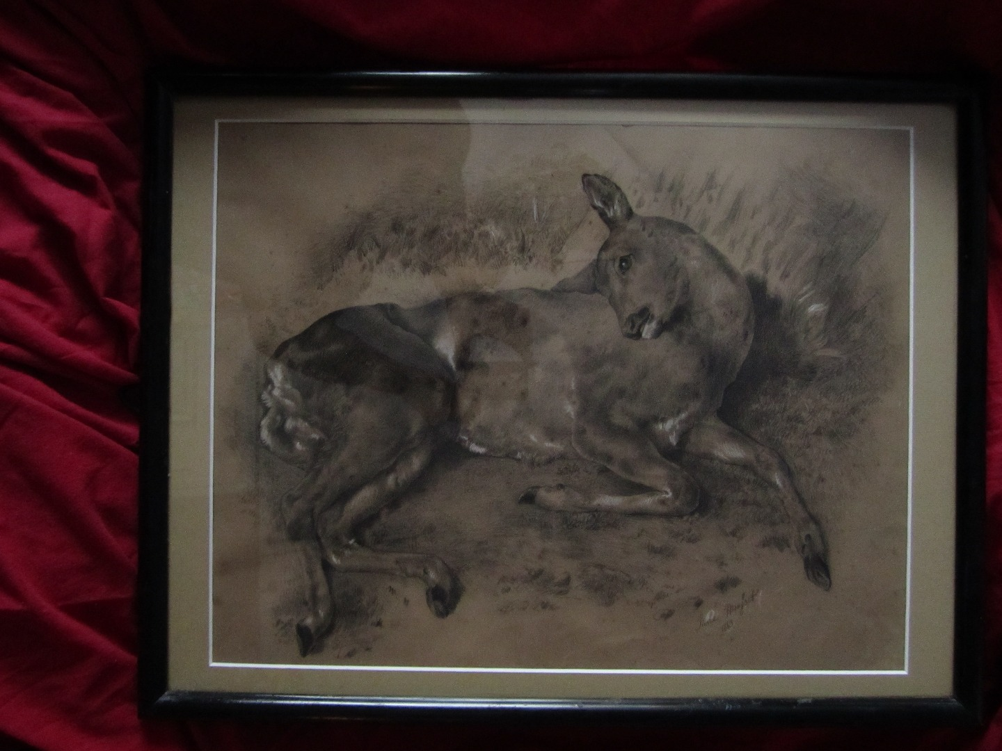 DRAWING SIGNED PIERRE MOUSSET