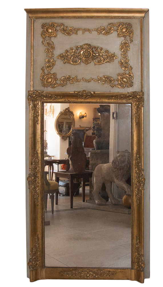 FRENCH RESTAURATION PERIOD MIRROR