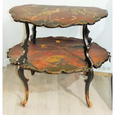 NAPOLEON III PERIOD TEA TABLE