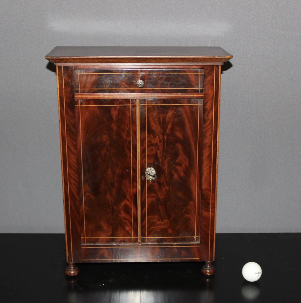 CHARLES X MINIATURE ARMOIRE