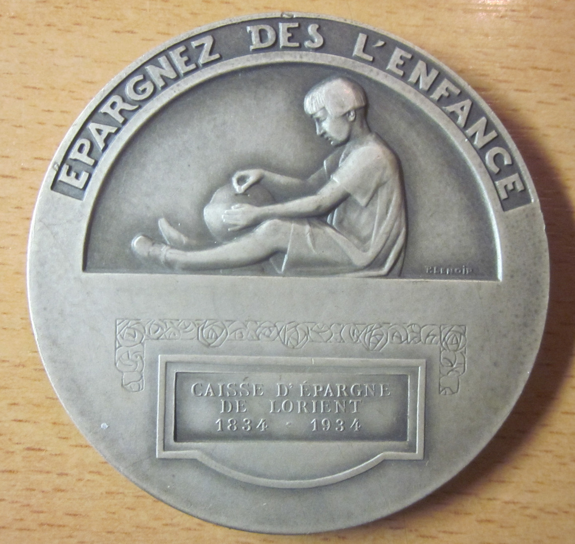 SILVER PLATED BRONZE MEDAL