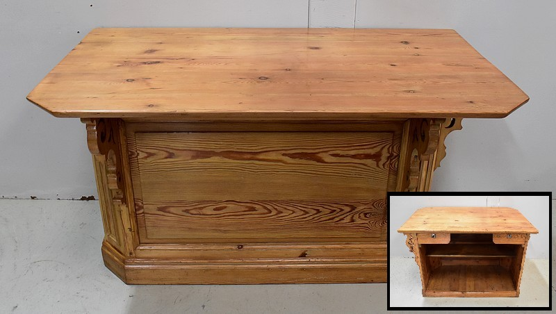 PINE SHOP COUNTER