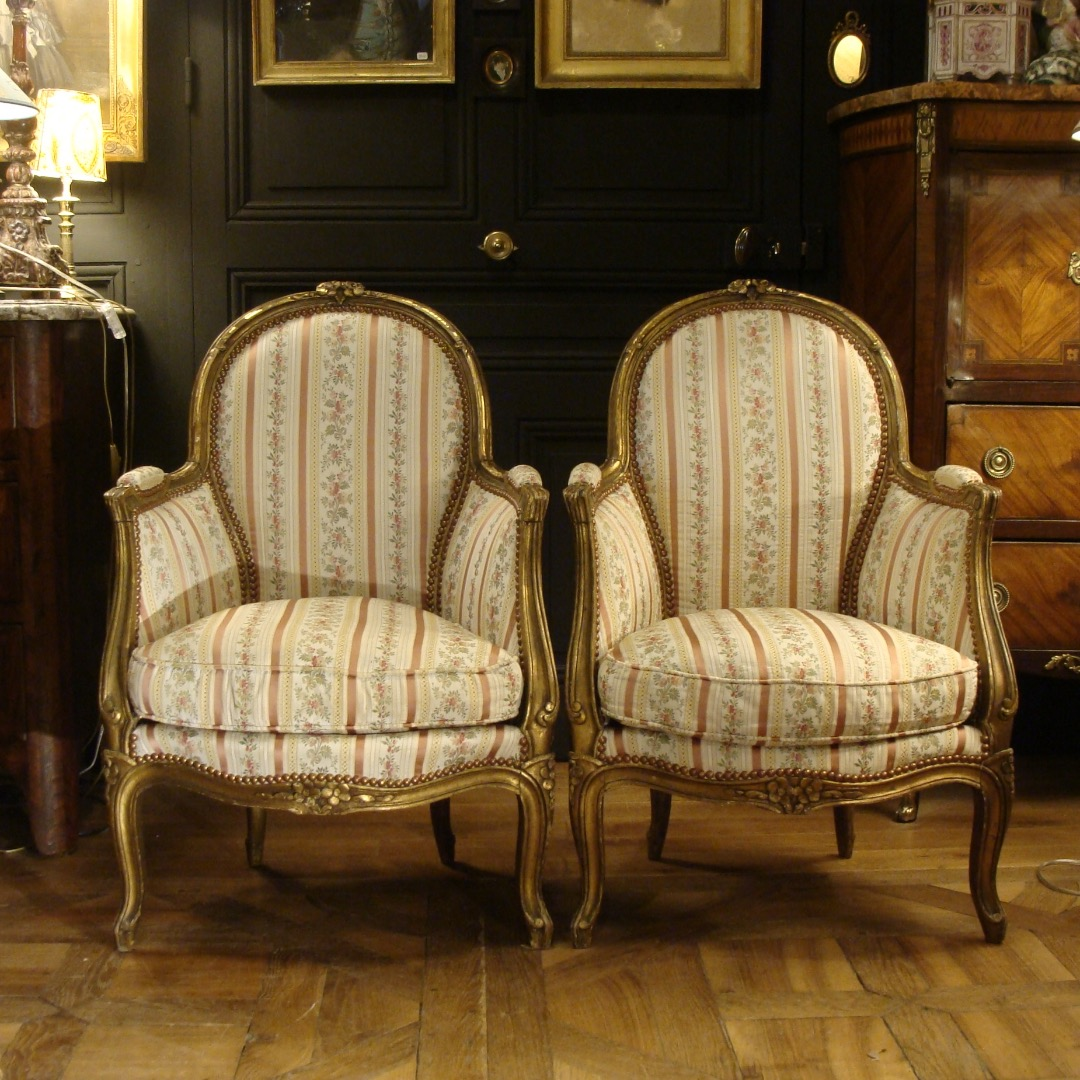PAIR OF NAPOLEON III PERIOD ARMCHAIRS
