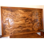 ART DECO PERIOD BAS RELIEF