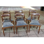 SUITE OF FRENCH CHAIRS AND ARMCHAIRS