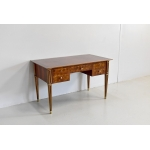 Flat Art-Deco desk of middle - twentieth