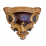 NAPOLEON III PERIOD WALL SHELF