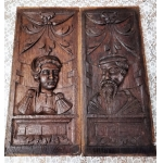 17th CENTURY OAK PANELS