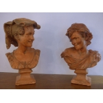 TERRA COTTA BUSTS