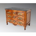 18th C CHEST OF DRAWERS SIGNED JACQUIER JME